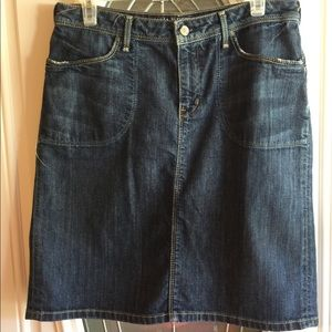 Denim skirt by Banana Republic size 8